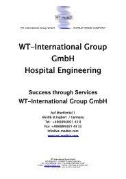 WT-International Group GmbH Hospital Engineering