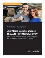 UberMedia Data Insights on The Auto Purchasing Journey