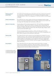 CUMULUS® FTC system - PanGas