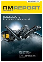 RUBBLE MASTER In action around the world