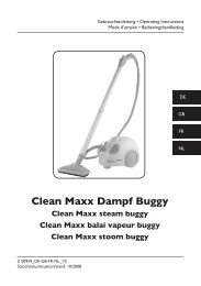 Clean Maxx Dampf Buggy - M6 Boutique
