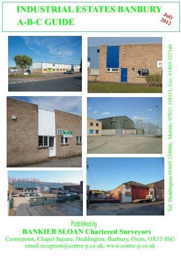 Industrial Estates, Banbury - Bankier Sloan