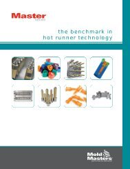 the benchmark in hot runner technology - Mold-Masters