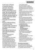 Severin KA 4484 Cafetière électrique »START« - Istruzioni d'uso - Page 5