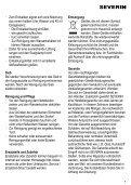 Severin WK 3389 Bouilloire électrique »START« - Istruzioni d'uso - Page 7