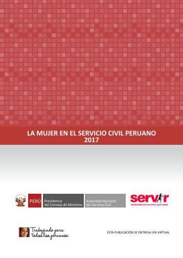 LA MUJER EN EL SERVICIO CIVIL PERUANO 2017