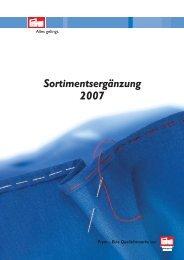 Prym Sortimentsergänzung 2007 - Prym Consumer