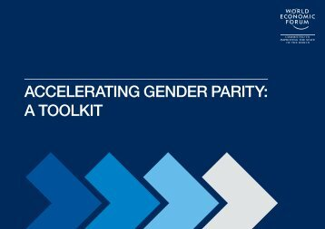 ACCELERATING GENDER PARITY A TOOLKIT