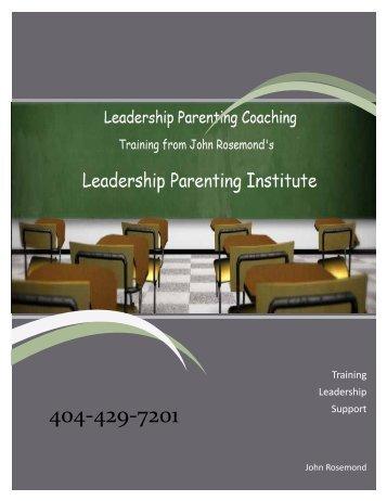 What is Parent Coaching? - John Rosemond
