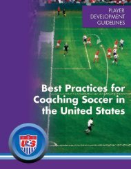 Best Practices - Kentucky Youth Soccer Association