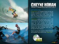 WORLD CHAMPION & MASTER COACH - Turbo Surf Designs
