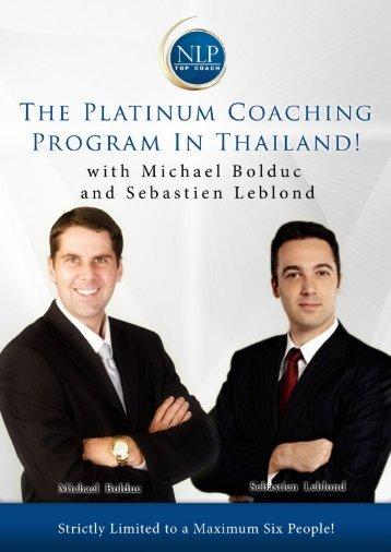 Group Coaching - NLP Top Coach