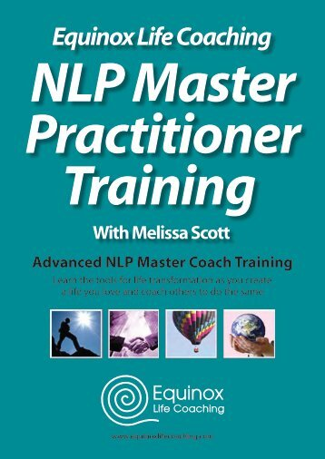 Equinox Life Coaching NLP Master Practitioner Training