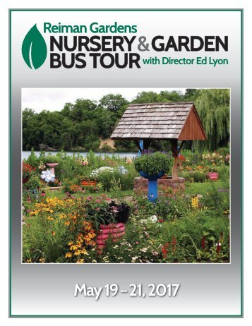 NURSERY & GARDEN BUS TOUR