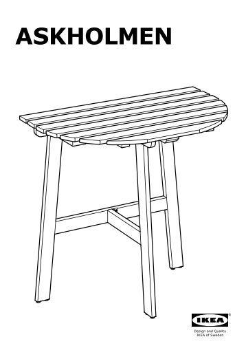 L 39 elica esterna di manovra di prua e poppa for Askholmen tavolo ikea