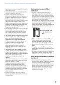 Sony MHS-PM5K - MHS-PM5K Consignes d'utilisation Roumain - Page 3