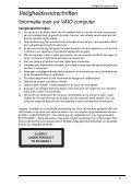 Sony VGN-P29VN - VGN-P29VN Documents de garantie Néerlandais - Page 5