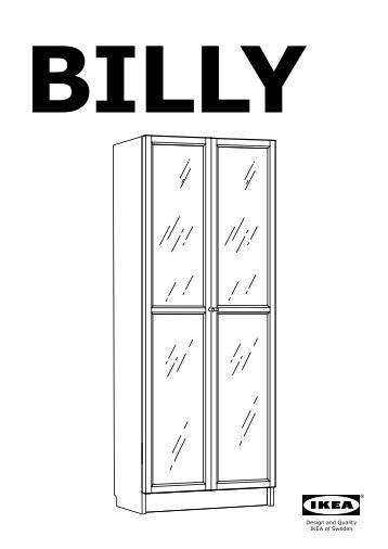 Billy sistema di ikea - Ante billy ikea ...
