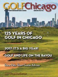 125 Years of golf in Chicago