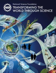 TRANSFORMING THE WORLD THROUGH SCIENCE
