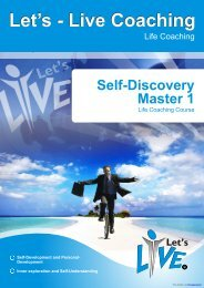 Self-Discovery Master 1 - Let's-Live Coaching