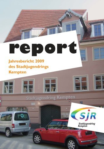 Jahresbericht 2009 - Stadtjugendring Kempten