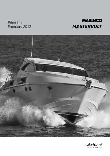 Price List February 2012 - Navex Elektro