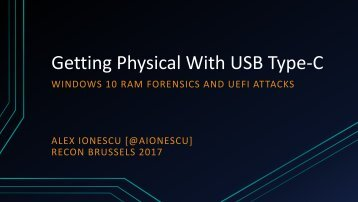 Getting Physical With USB Type-C