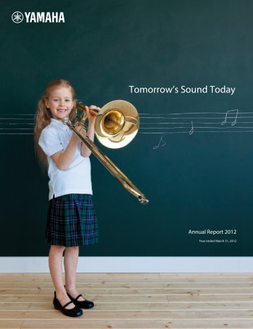 Annual Report 2012 - Yamaha