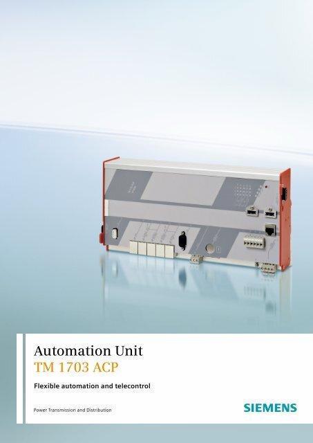 Automation Unit TM 1703 ACP - Siemens