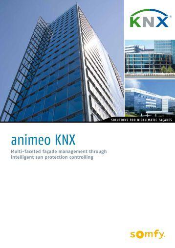 Animeo knx eib somfy for Architecture knx