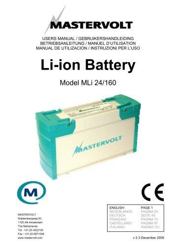 Li-ion Battery - Shop