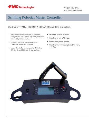 Schilling Robotics Hd Tms