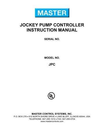 eaton fire pump controller manual