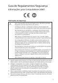Sony SVT1312V1E - SVT1312V1E Documenti garanzia Portoghese - Page 5