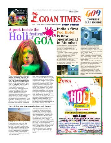 GoanTimes March 10th 2017 Edition