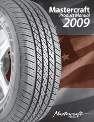 Mastercraft Catalog - Tire Group International