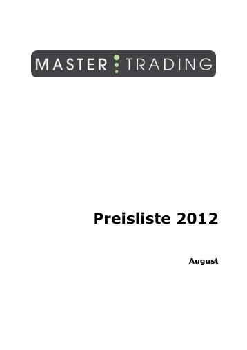 Preisliste MT DE aug 2012