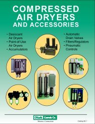 compressed air dryers - pdf master file - O'Keefe Controls Inc