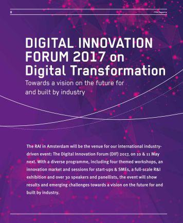 FORUM 2017 on Digital Transformation