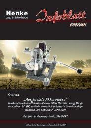 Henke-Infoblatt: Rifle Rest NEO
