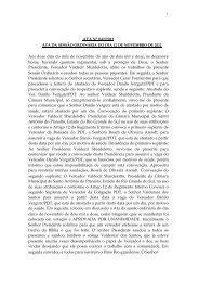 Dia 12/11/2012 - Câmara Municipal de Vereadores Santo Antônio ...