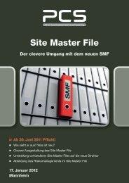 Site Master File - PCS