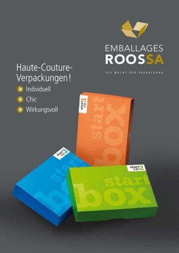 Haute-Couture- Verpackungen!
