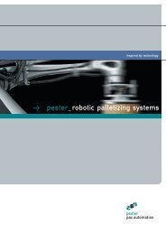 Download brochure - Pester Pac Automation