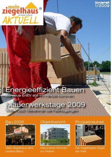 Aktuell - Adolf Zeller GmbH & Co. Poroton-Ziegelwerke KG