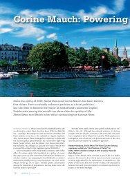 Corine Mauch: Powering - Swiss News