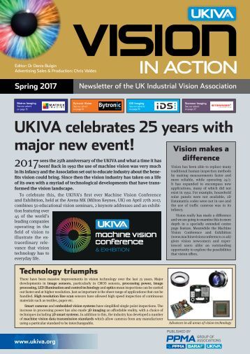 UKIVA Vision in Action Spring 2017
