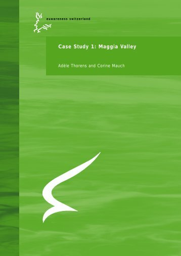 Case Study 1: Maggia Valley - Euwareness