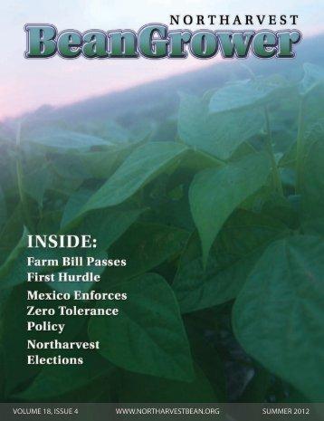 Summer 2012 - Northarvest Bean Growers Association